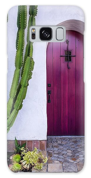 Magenta Door Galaxy Case