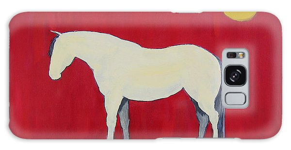 Maggie The Horse In The Moonlight Galaxy Case