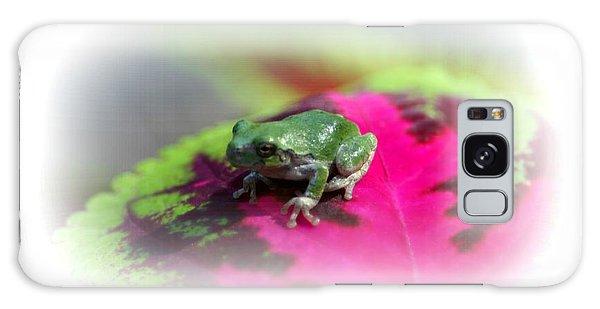 Magic Carpet Coleus Leaf Galaxy Case by Barbara S Nickerson