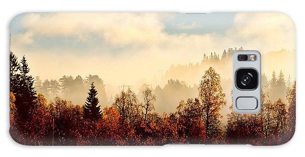 Magic Fall Forest Galaxy Case