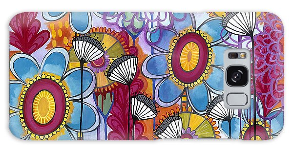 Galaxy Case featuring the painting Magic Garden by Carla Bank