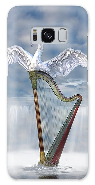 Magic Harp  Galaxy Case by Angel Jesus De la Fuente
