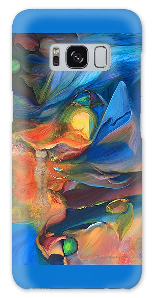 Magic In The Air - Art Only Galaxy Case