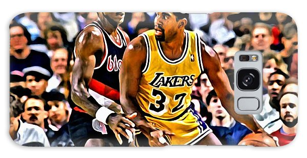 Magic Johnson Vs Clyde Drexler Galaxy Case