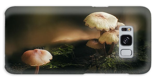 Mushroom Galaxy S8 Case - Magic Mushrooms by Scott Norris