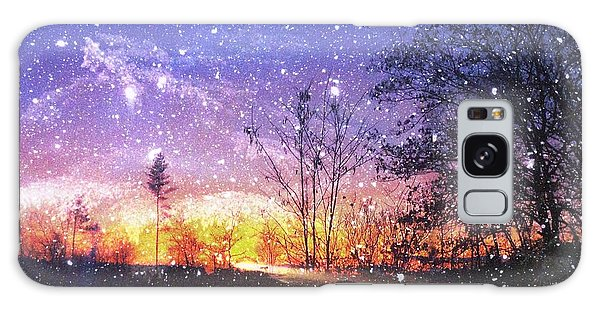Magic Of Maine Galaxy Case by Mike Breau