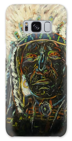 Magic Powers,  Native American Indian Chief Galaxy Case