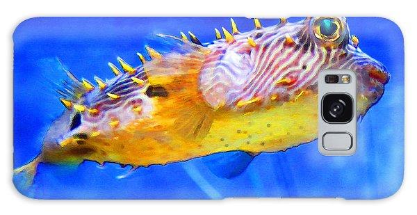 Scuba Diving Galaxy Case - Magic Puffer - Fish Art By Sharon Cummings by Sharon Cummings