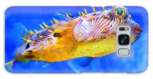 Magic Puffer - Fish Art By Sharon Cummings Galaxy Case