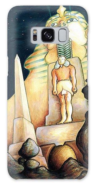 Magic Vegas Sphinx - Fantasy Art Painting Galaxy Case