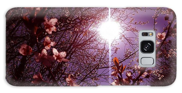 Magical Blossoms Galaxy Case by Vicki Spindler