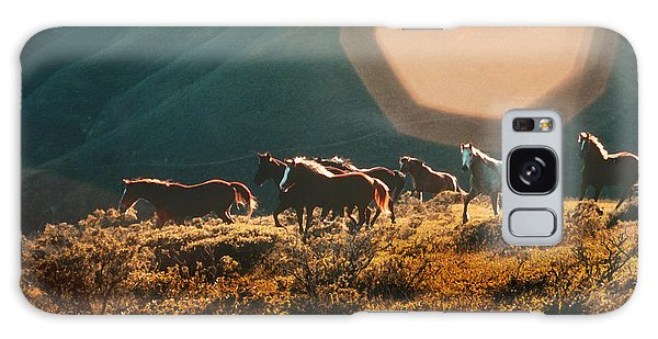 Magical Herd Galaxy Case by Melinda Hughes-Berland