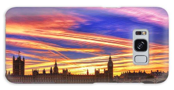 Magical London Galaxy Case by Midori Chan