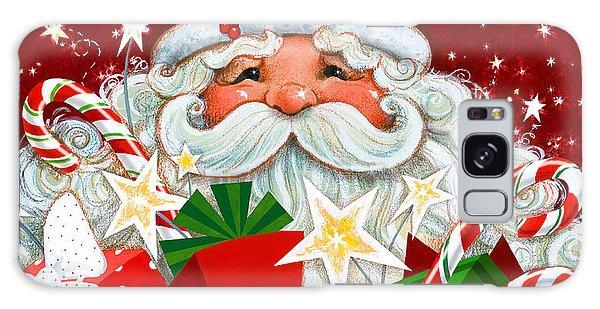 Santa Claus Galaxy Case - Magical Santa by Janet Stever