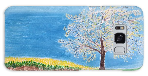Magical Wish Tree Galaxy Case by Sonali Gangane