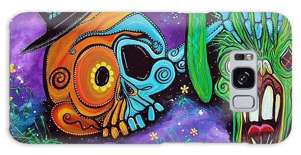 Voodoo Galaxy Case - Magician De Los Muertos by Laura Barbosa
