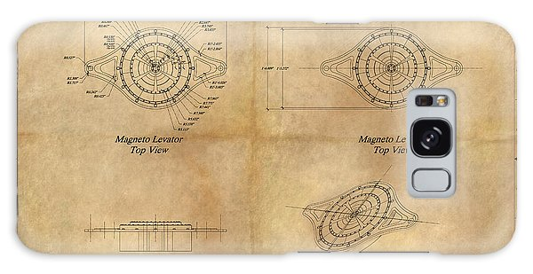 Magneto System Blueprint Galaxy Case