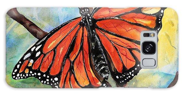 Magnificant Monarch Galaxy Case