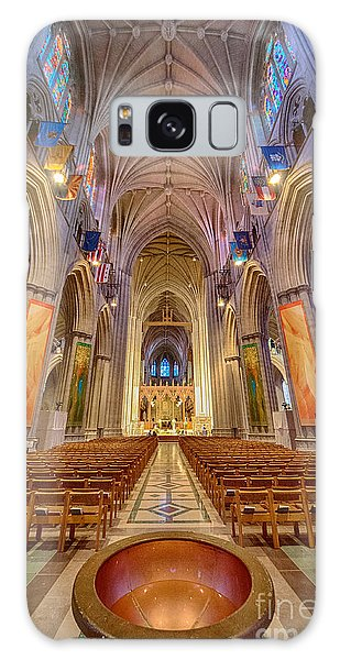 Magnificent Cathedral V Galaxy Case