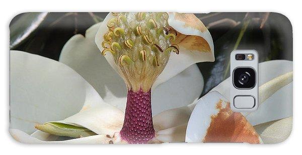 Magnolia Magnicence  Galaxy Case