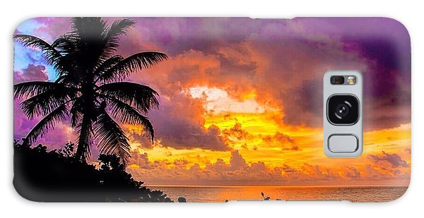 Magnificent Sunrise Galaxy Case by Don Durfee