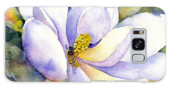 Magnolia And Bumble Bee 2 Galaxy Case