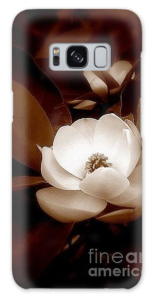 New Orleans Magnolia Beauty Galaxy Case by Michael Hoard