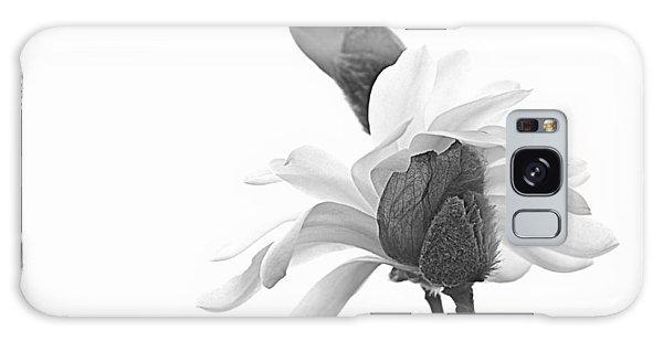 Magnolia Bloom 1 Galaxy Case by Tammy Schneider