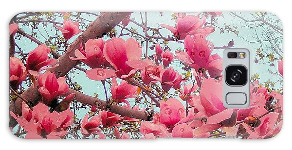 Magnolia Blossoms In Spring Galaxy Case