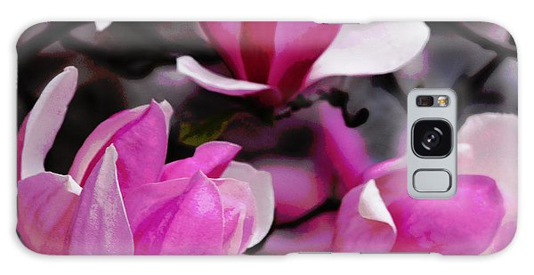 Magnolia Blossoms Galaxy Case