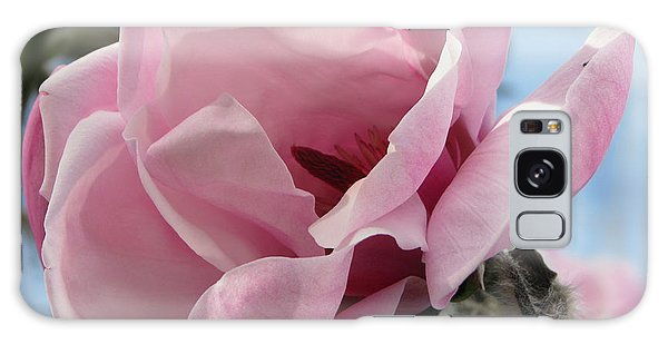 Magnolia In Spring Galaxy Case by Jola Martysz