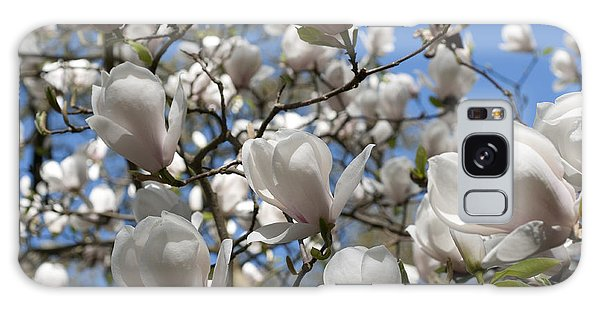 Magnolia Galaxy Case by Lana Enderle