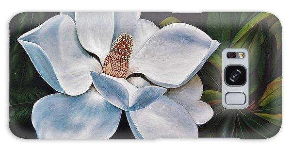 Magnolia Galaxy Case by Paula Ludovino