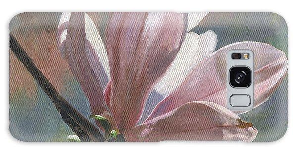 Magnolia Petals Galaxy Case