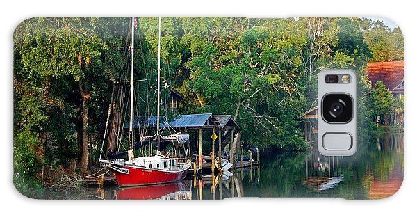 3a297db2ea8bbd Alabama Crimson Tide Galaxy Case - Magnolia Red Boat by Michael Thomas