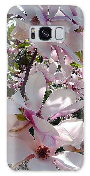 Magnolias In The Shade Galaxy Case