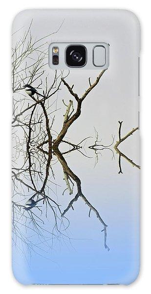 Magpie Galaxy Case by Sharon Lisa Clarke