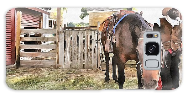 Mahaffie Stagecoach Stop And Farm Galaxy Case by Liane Wright