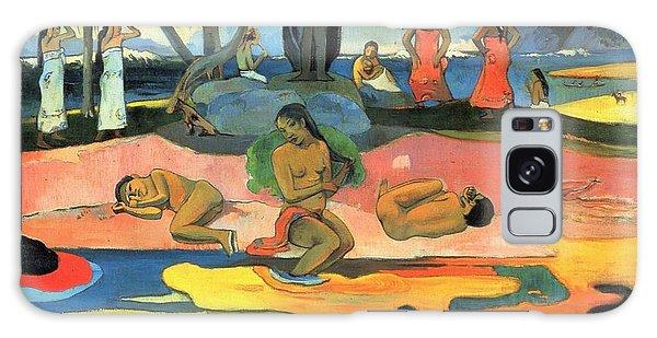 Art Institute Galaxy Case - Mahana No Atua by Paul Gauguin