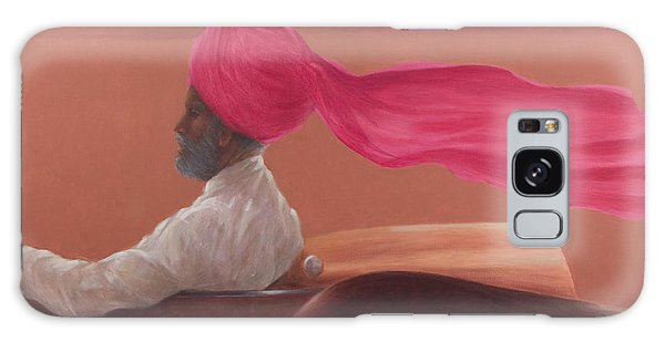 Turban Galaxy Case - Maharajah At Speed 2 by Lincoln Seligman