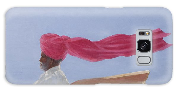 Turban Galaxy Case - Maharajah At Speed by Lincoln Seligman