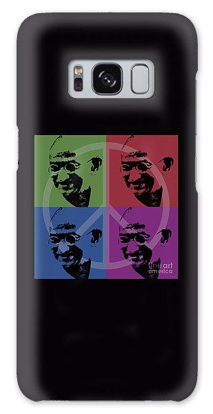 Mahatma Gandhi  Galaxy Case by Jean luc Comperat