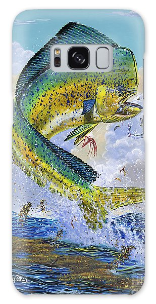 Dolphin Galaxy Case - Mahi Hookup Off0020 by Carey Chen