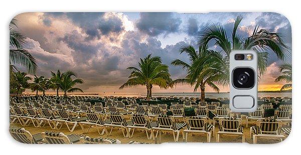 Mahogany Bay Beach-roatan-honduras Galaxy Case