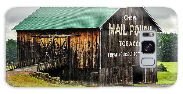 Mail Pouch Tobacco Barn Galaxy Case by Anthony Thomas
