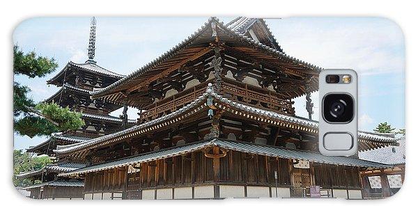 Main Hall Of Horyu-ji - World's Oldest Wooden Building Galaxy Case