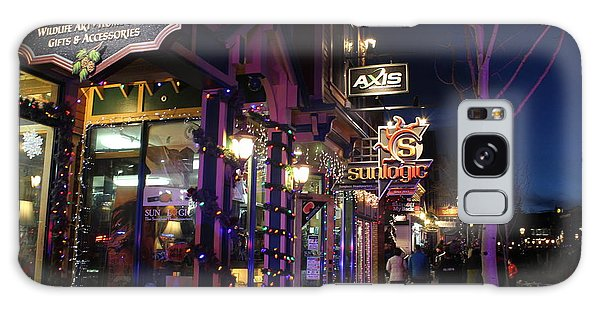 Main Street Breckenridge Colorado Galaxy Case by Fiona Kennard