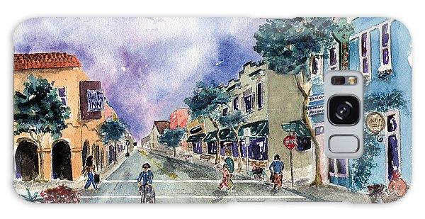 Main Street Half Moon Bay Galaxy Case