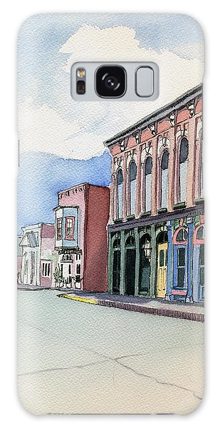 Main Street In Gosport Galaxy Case