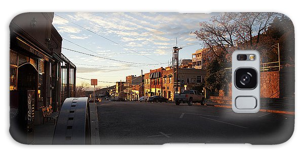 Main Street Jerome Arizona Galaxy Case
